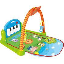 Tapete De Atividades Para Bebê Com Piano Buba -