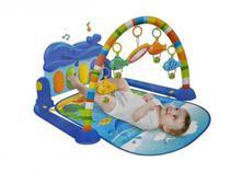 Tapete de Atividades para Bebê Joy Piano Musical Azul - Color baby - Colorbaby