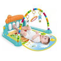 Tapete de Atividades para Bebê Musical com Piano Verde Villa - Color Baby -