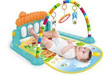 Tapete de Atividades Para Bebê Piano Musical Kitstar  Verde -