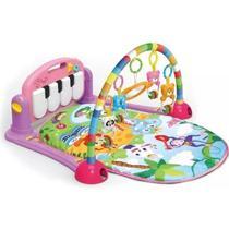 Tapete De Atividades Para Bebê Villa Piano Musical Rosa - Prisma
