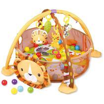 Tapete de Atividades Piscina de Bolinhas Leão Baby Style -