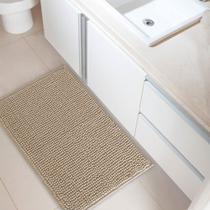 Tapete de Banheiro Antiderrapante Dallas Bege - CORTTEX