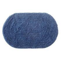 Tapete de Banheiro Oval Victoria Azul - CORTTEX