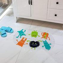 Tapete de banho para box Antiderrapante - Infantil 69x39 Taz - Perfitec
