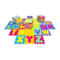 Tapete de EVA Tatame Infantil Alfabeto 28x28 3+ 7100 Evamax -