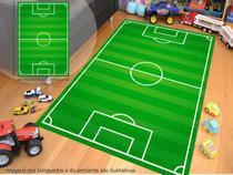 Tapete De Lona P/ Brincar Futebol TP100 M08 - Geladeiramania