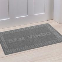 Tapete de porta vinyl bem vindo 0,60 x 0,90 - niazitex -
