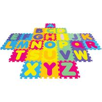 Tapete em EVA Alfabeto 28X28 CM 5MM 26 Pecas - Shop Still
