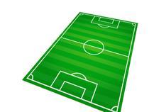 Tapete Em Lona Para Brincar MTP08 Futebol - Geladeiramania