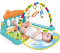 Tapete Estimulador De Bebê Musical Toca Piano Villa Verde - Color Baby -