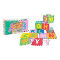 Tapete EVA Infantil Grande Alfabeto - 26 placas - NIG -