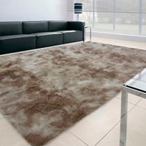 Tapete Felpudo Apolo Soft Casa Dona 100x150cm Bege -