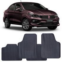Tapete Fiat Cronos 2017 a 2021 Automotivo PVC Antiderrapante Jogo - Reese