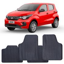 Tapete Fiat Mobi 2016 a 2021 Automotivo PVC Antiderrapante Jogo - Reese