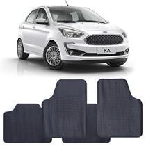 Tapete Ford Ka 2019 a 2021 Automotivo PVC Antiderrapante Jogo - Reese