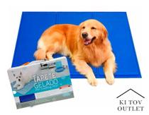 Tapete Gelado 50X64 Refrescante Calor Pet Cachorro Chalesco -