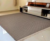 Tapete GRANDE Sala Anti Alergico ,100% Algodão 3,00m X 2,00m Lavavel Em Maquina Alta Durabilidade XT - Gouvea Textil