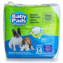 Tapete Higiênico Baby Pads para Cães - 14 Unidades - Petix