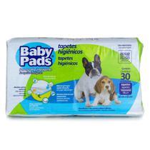 Tapete Higiênico Baby Pads para Cães - 30 Unidades - Petix