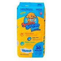 Tapete Higiênico Cães Super Secão Baby Petix C/30 Unidades -
