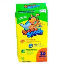 Tapete Higiênico Cães Super Secão C/30 Unidades -