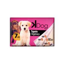 Tapete Higiênico Cão/Gato - Kdog - Caixa Com 7 Unidades - K Dog