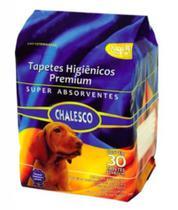 Tapete Higiênico Chalesco - 30 UNIDADES 60x90cm -