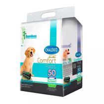 Tapete Higiênico Comfort Bamboo Cães Chalesco C/50 Unidades -