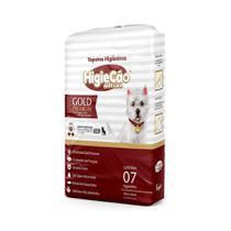 Tapete Higiênico HigieCão Gold Premium 58X60 para Cães - 7 Unidades -