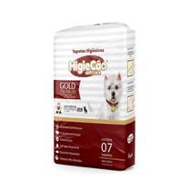 Tapete Higiênico HigieCão Gold Premium 60X80 para Cães 7 Unidades -
