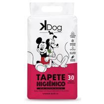 Tapete Higiênico K Dog Mickey e Amigos para Cães de todas as raças e idades 80 x 60 cm (30 unidades) - Kdog - Total Química