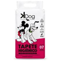 Tapete Higiênico K Dog Mickey e Amigos para Cães de todas as raças e idades 80 x 60 cm (7 unidades) - Kdog - Total Química