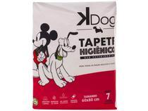 Tapete Higiênico KDog Disney 80x60cm - 7 Unidades