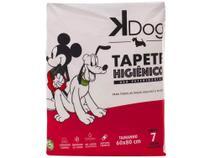 Tapete Higiênico KDog Disney 80x60cm - 7 Unidades -