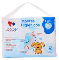 Tapete Higiênico P/ Cães 90 Unidades 60x60 Loober - Loober Pets
