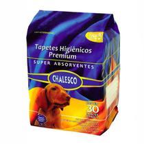 Tapete higiênico para cachorros 30 unidades - chalesco -