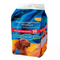 Tapete Higiênico Para Cães Chalesco C/50 Unidades -