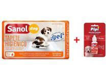 Tapete Higiênico Sanol 30 Unidade + Atrativo Canino Pipi Sim Sanol -