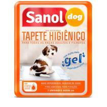 Tapete Higiênico Sanol Dog 7 Unidades -