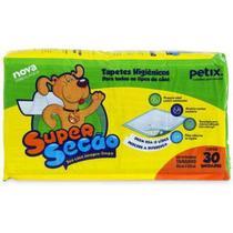 Tapete Higiênico Super Secão 30 unidades - Petix