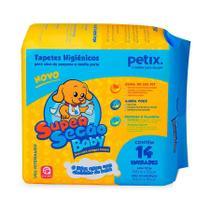 Tapete Higiênico Super Secão Baby Petix para Cães - 14 unidades - Supersecão
