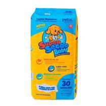 Tapete Higiênico Super Secão Baby Petix para Cães - 30 unidades - Supersecão