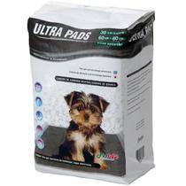Tapete Higiênico Ultra Pads Camada De Carbono 60x60 30 Unidades - Pet Like