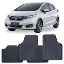 Tapete Honda Fit 2015 a 2021 Automotivo PVC Antiderrapante Jogo - Reese