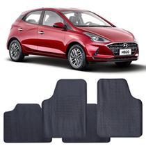 Tapete Hyundai HB20 2020 a 2021 Automotivo PVC Antiderrapante Jogo - Reese