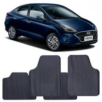 Tapete Hyundai HB20s 2020 a 2021 Automotivo PVC Antiderrapante Jogo - Reese