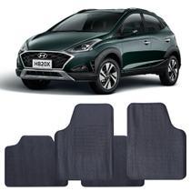 Tapete Hyundai HB20x 2020 a 2021 Automotivo PVC Antiderrapante Jogo - Reese