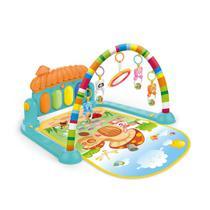 Tapete infantil de atividades baby colorido divertido com melodias - Dm Toys