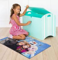 Tapete Infantil Disney Frozen e Amigos 0,70x1,00m Jolitex -